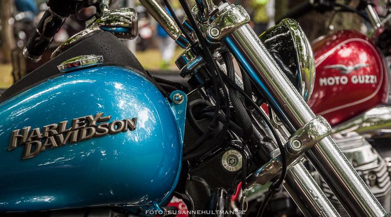 Motorcyklar: Harley Davidson och Moto Guzzi