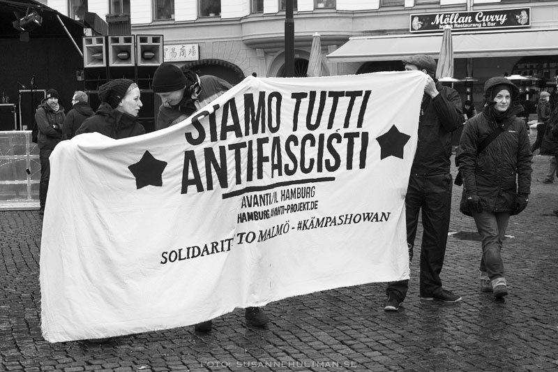 Banderoll på italienska