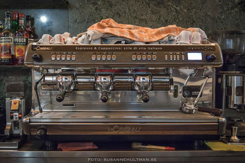 Italiensk kaffemaskin