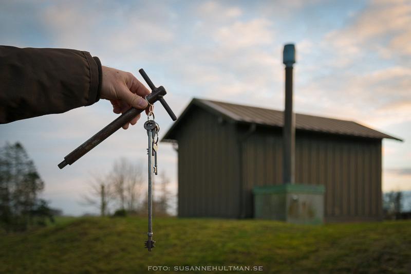 Nyckeln till ledningscentralen