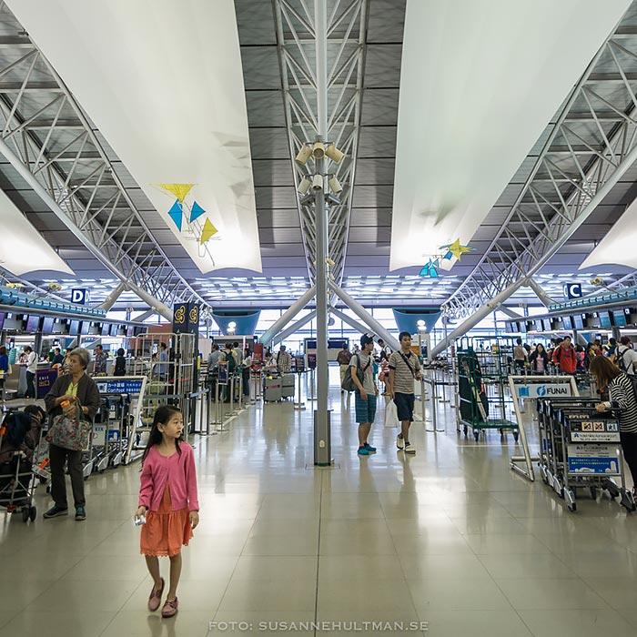 Flygplatsen inifrån