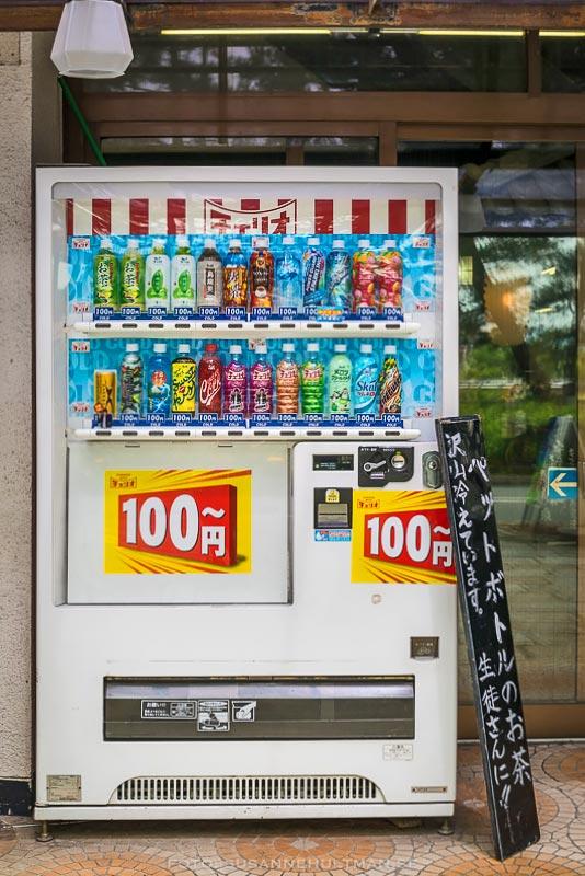 Automat med drycker
