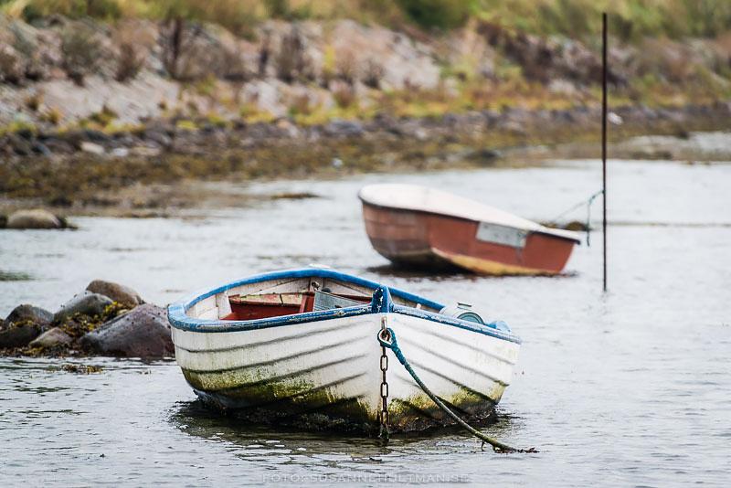 Två båtar på vatten