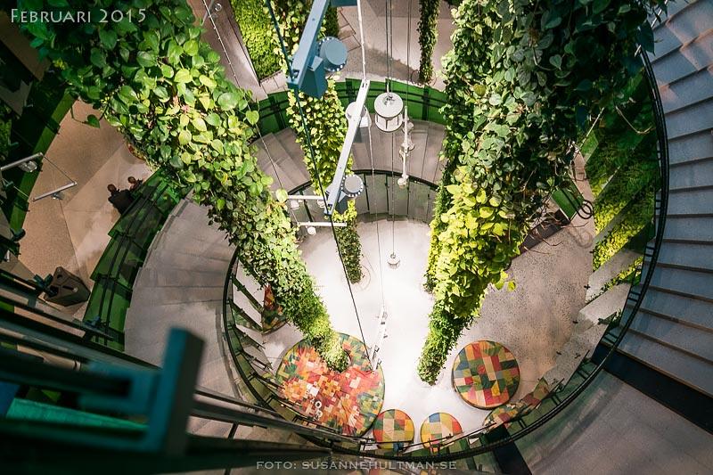 Gröna trappan på Emporia