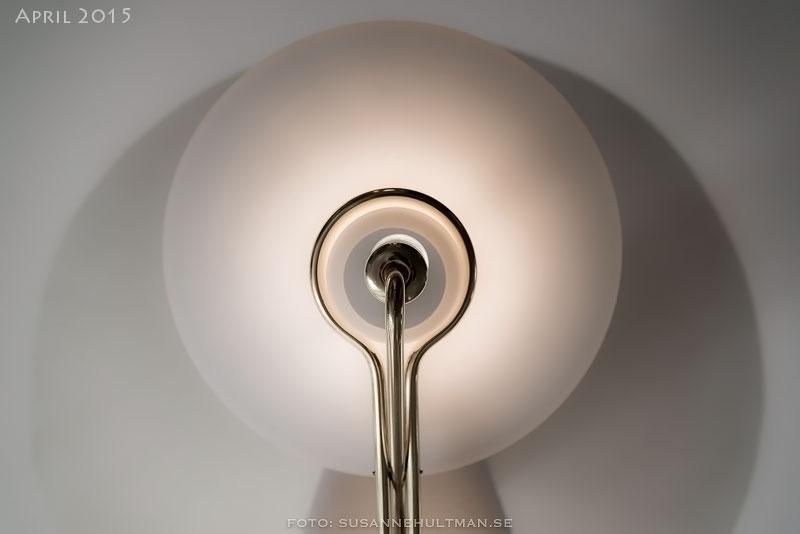 Lampa underifrån