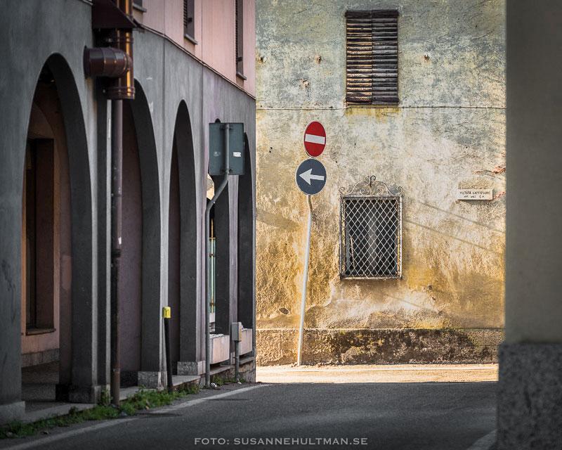 Gata från gammalt italienskt kvarter.