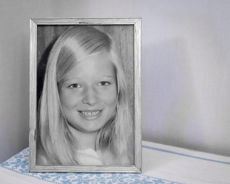 Porträtt av mig som tolvåring.