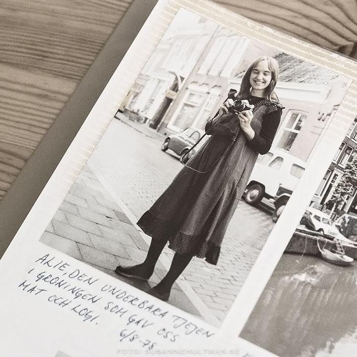 Albumfoto på Alie från Groningen