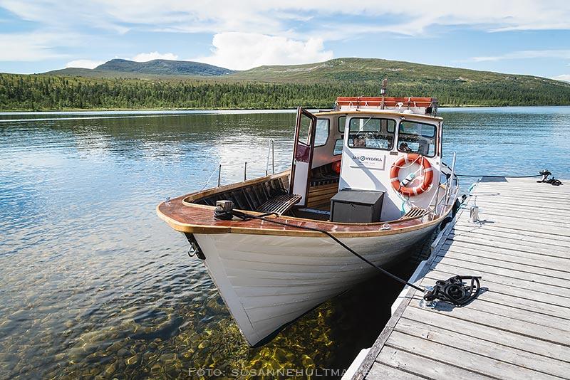 Båt på Grövelsjön