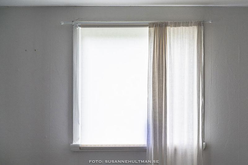 Ett vitt fönster