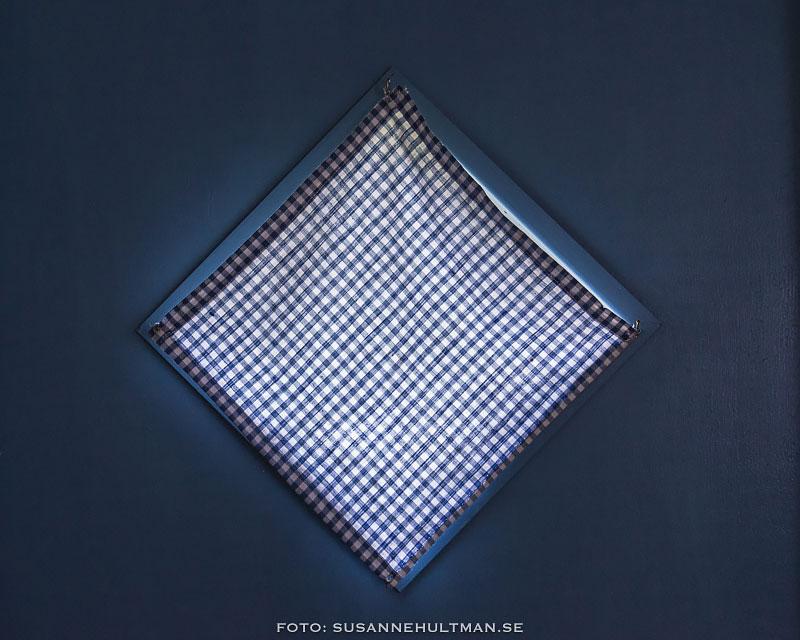 Ett blått fönster