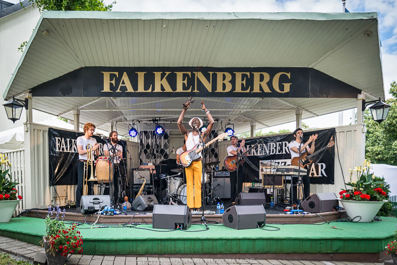 Musiker på scen