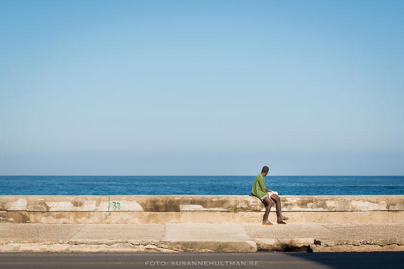 Man vid Malecón