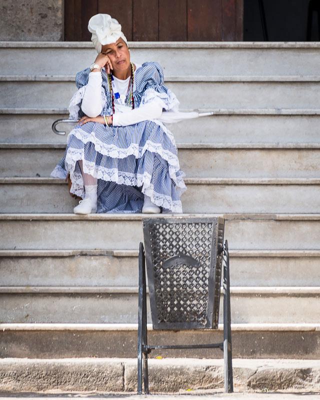 Kubanska på trappa