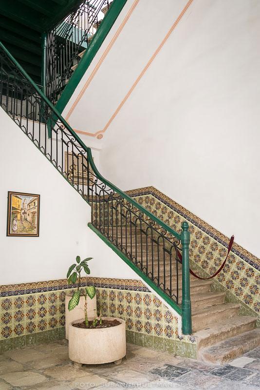 Dekorerad trappa