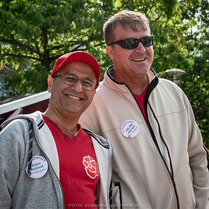 Två glada socialdemokrater