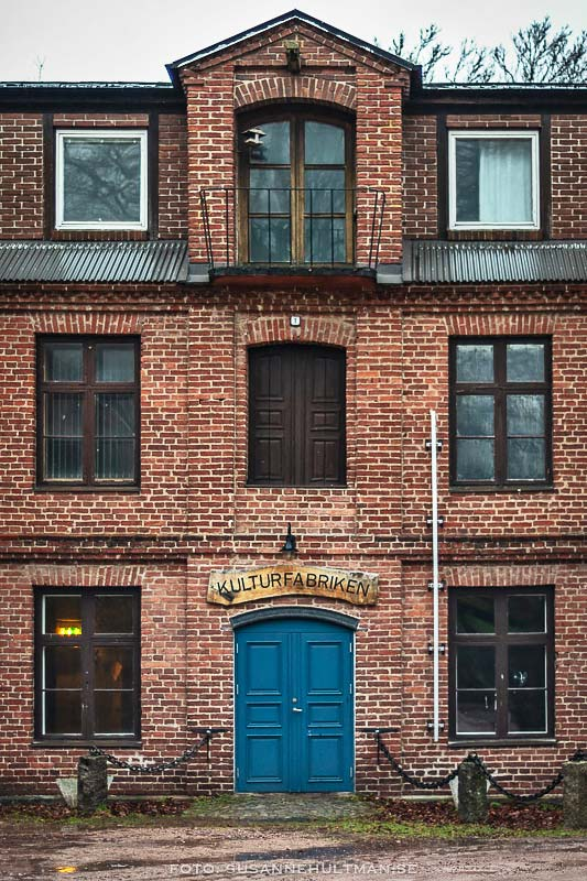 Kulturfabrikens fasad