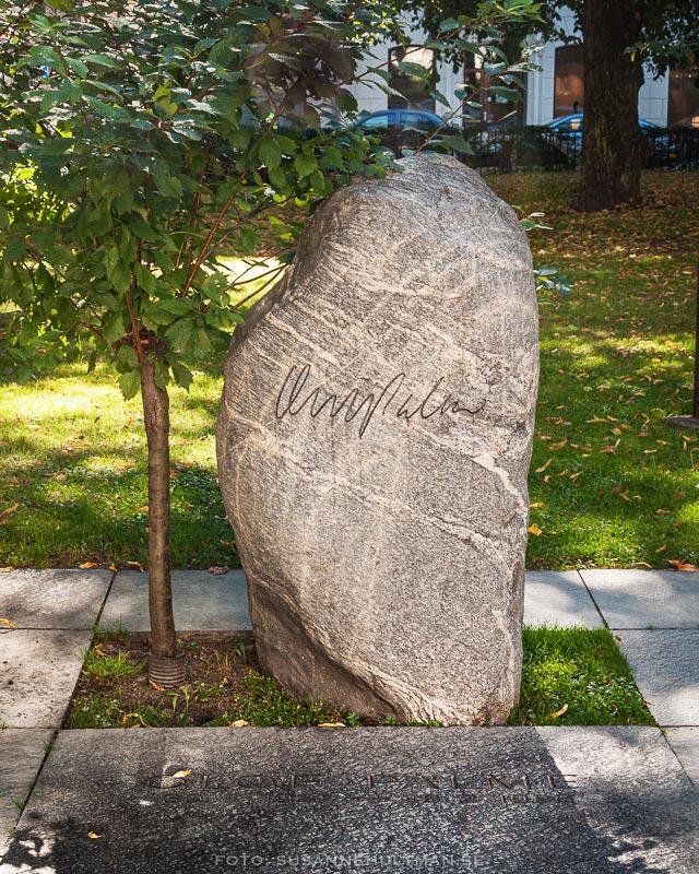 Olof Palmes gravsten